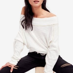 Free People Palisades Off the Shoulder Thermal